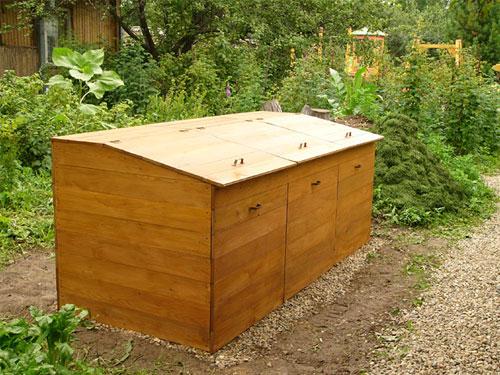 Ящик для гумуса